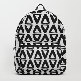 Black and White Abstract II Backpack