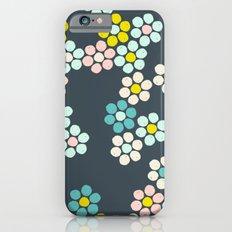 Flower tiles iPhone 6s Slim Case