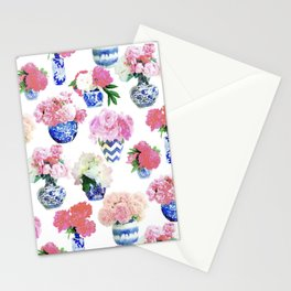 Ginger Jar Peonies Stationery Cards