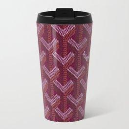 Goyard Purple Travel Mug
