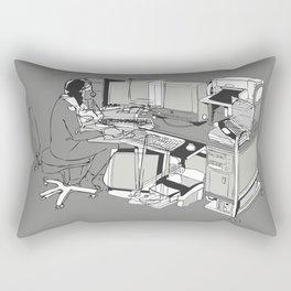 COMPUTER OFFICE WORKER Rectangular Pillow
