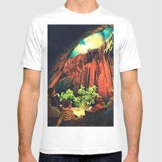 Outing Mens Fitted Tee White MEDIUM
