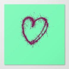 I Heart U Canvas Print