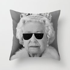 BE COOL - The Queen Throw Pillow