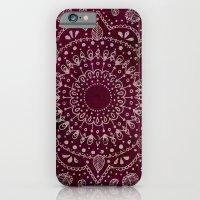 Wine Mandala Slim Case iPhone 6s