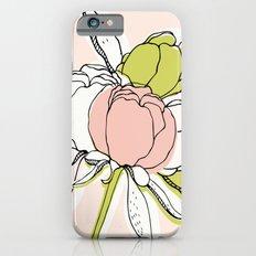Peonies II Slim Case iPhone 6s