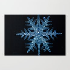 Christmas Time in the City Canvas Print