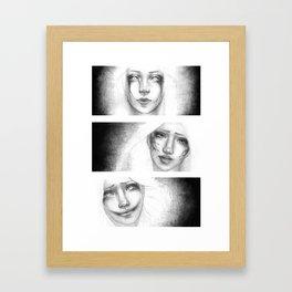 Three Evils Framed Art Print