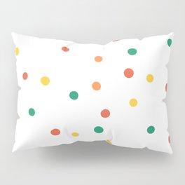 Summer abstract pois Pillow Sham