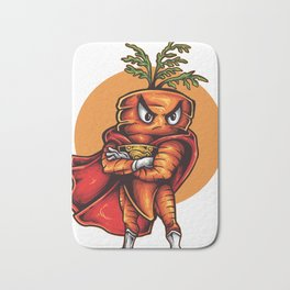 The Angry Carrot / Foodietoon Bath Mat