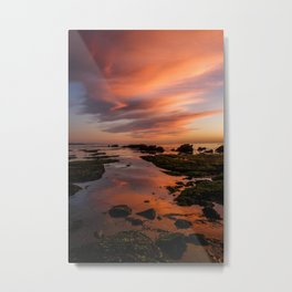 Sunset. Oregon Coast Metal Print