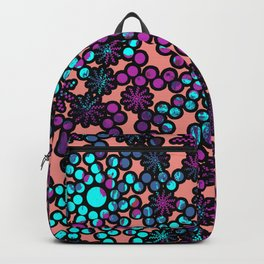 Abstract Mixed Media Series Sunshine 13 Backpack