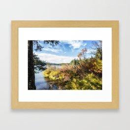 A Jumble of Color Framed Art Print