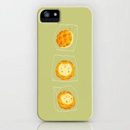 Porcupineapple Bun iPhone Case