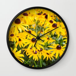Spot of Sunshine Wall Clock