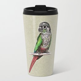 Green-cheeked conure Travel Mug