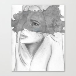 The Storm Inside My Head Canvas Print