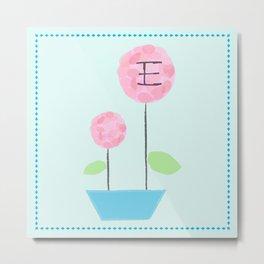 Flower E Metal Print