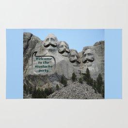 Mount Mustache Rug