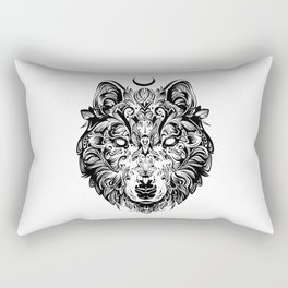 THE LONE WOLF Rectangular Pillow