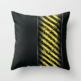 Danger V Throw Pillow