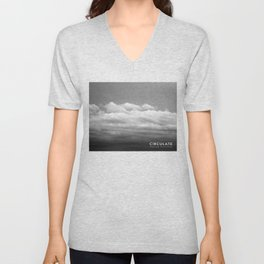Circulate - Clouds Unisex V-Neck