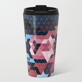 Geometric Gambit Travel Mug