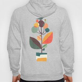 Potted plant with a bird Hoody