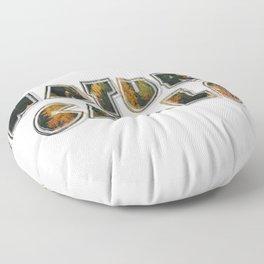 nature calls Floor Pillow