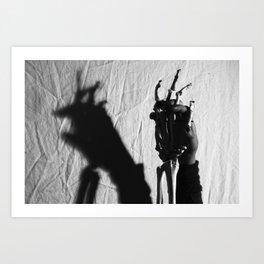 The Devil Inside Art Print