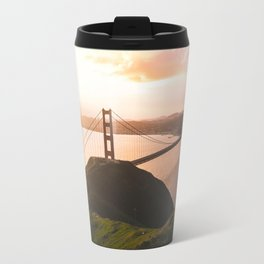 Golden Gate Bridge View From Slacker Hill - San Francisco, CA Travel Mug