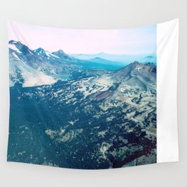 Three Sisters and Broken Top, Oregon Wall Tapestry