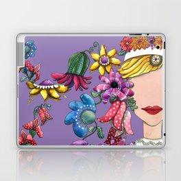 I Love the Flower Girl Lavender Laptop & iPad Skin