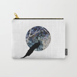 Peacock Worlds Carry-All Pouch