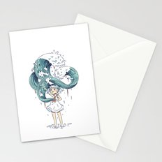 Daughter of the Sea Stationery Cards