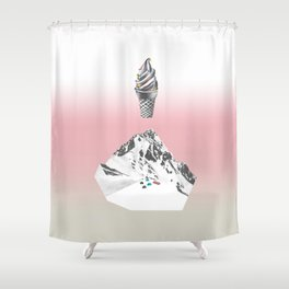 Domestic landscape Shower Curtain