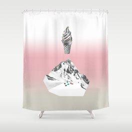 Domestic landscape Shower Curtain