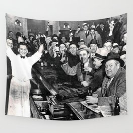 The Night Prohibition Ended Wall Tapestry