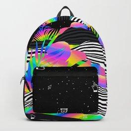 Vaporwave Palm Backpack
