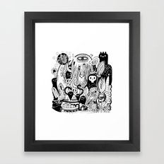 Big Garden  Framed Art Print