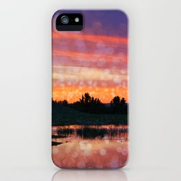 Boise Sunset iPhone Case