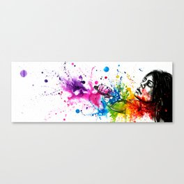 How lovely is death Canvas Print