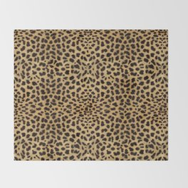 Cheetah Print Throw Blanket