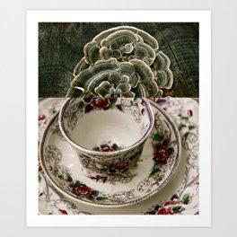 Fungal Tea Art Print