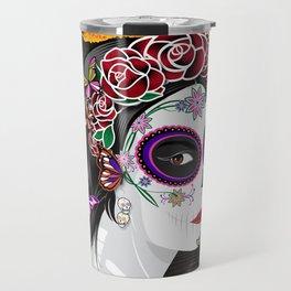 OFRENDA Dia De Los Muertos Travel Mug
