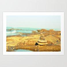 Balancing Act Art Print
