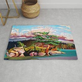 Juniper Islet by Amanda Martinson Rug