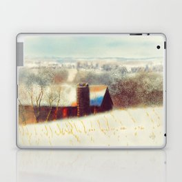 The Barn Over The Hill Laptop & iPad Skin