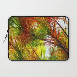 Pine branches with long and dense needles Laptop Sleeve