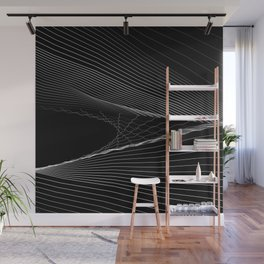 SNGLRTY BLK Wall Mural
